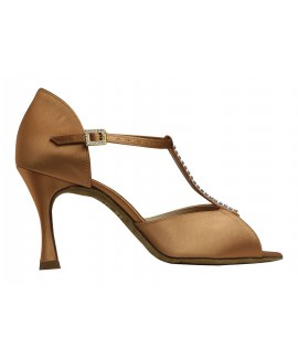 Supadance 1029 - Dark Tan Satin