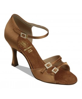 Supadance 1023 - Dark Tan Satin