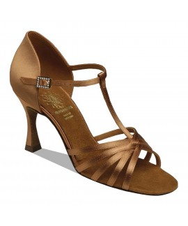 Supadance 1401 - Dark Tan Satin