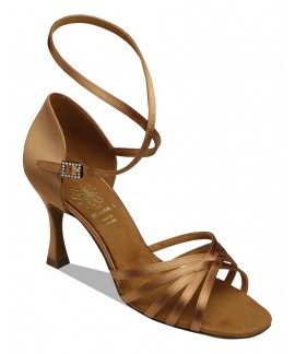 Supadance 1403 - Dark Tan Satin